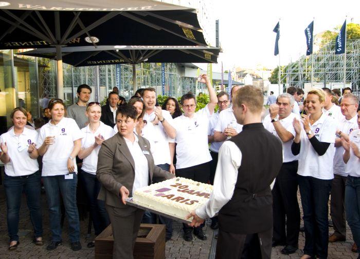 ARIS birthday cake