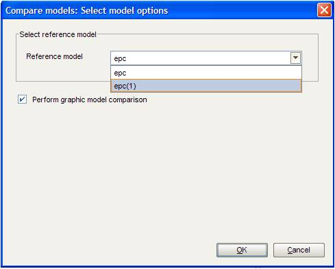 model options- reference model