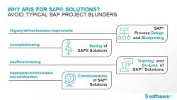Why ARIS for SAP solutions